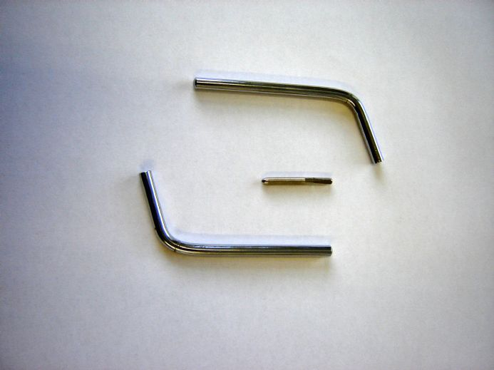 Tuning Lever for 4mm pins - metal handle